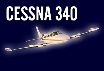 Cessna 340 PowerPac Spoiler Kit